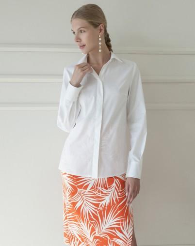 Рубашка с широкой манжетой