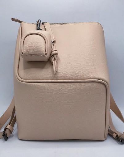 Рюкзак с отделением для ноутбука бежевый