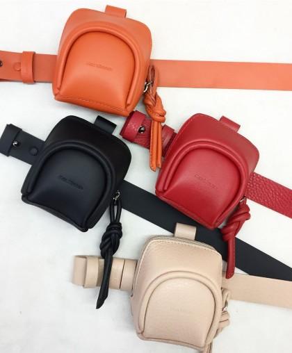 Микро сумка в комплекте с ремнём (выбор цветов)