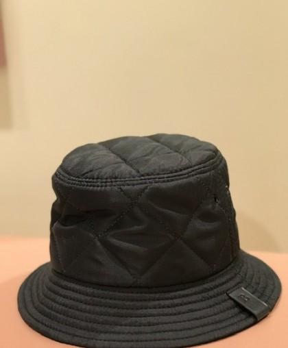 Панама чёрная из плащевой ткани