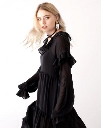 Платье из шифона Мечтательница
