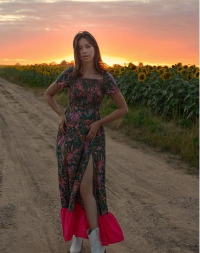 Платье Кветка