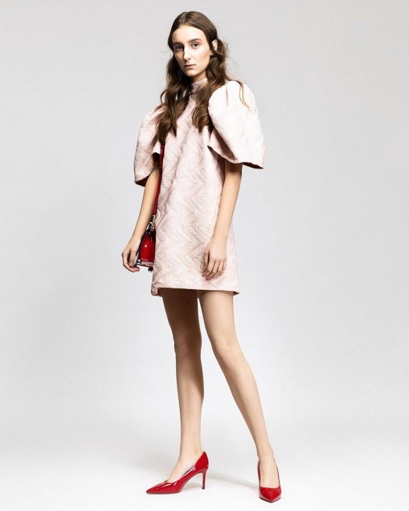 Платье нарядное Вафельное