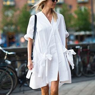 Женские платья-рубашки