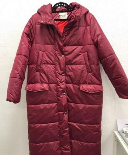 Пальто утепленное Тая бордо RESALE