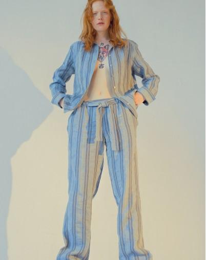 Дизайнерские брюки из натуральных тканей дизайнера Екатерины Волковой RESALE
